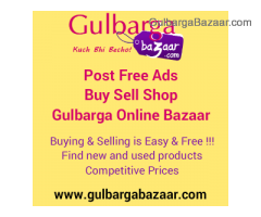 GulbargaBazaar.com Post Free Ad | Buy | Sell | Shop Online