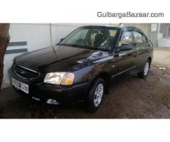 Hyundai Accent GLS Black 2002 model for sale