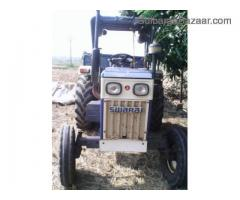 swaraj tractor 744 with power stearing, and traliar