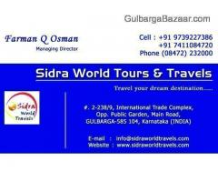 SIDRA WORLD TOURS & TRAVELS - GULBARGA