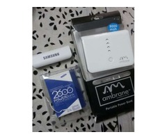 Two brand new powerbank for just rs.1100/-