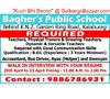 Teachers physical trainers accountant driver helper required for a schoool