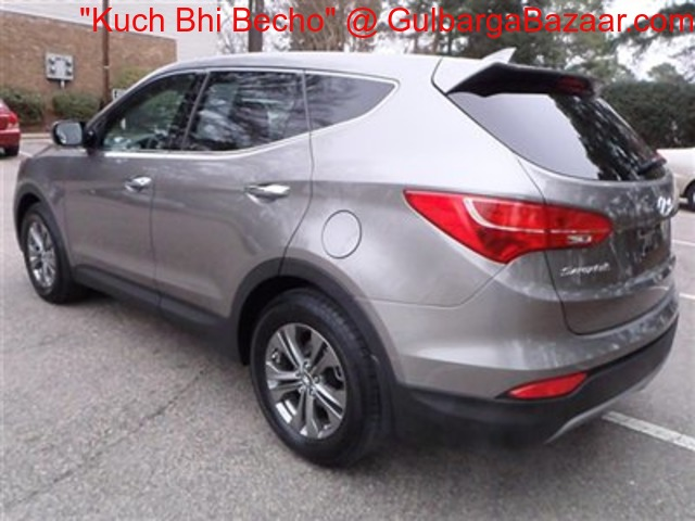 2013 hyundai santa fe for sale gulbarga bazaar. Black Bedroom Furniture Sets. Home Design Ideas