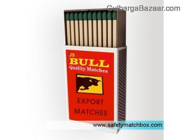 Distributors wanted for safety match box only for big traders
