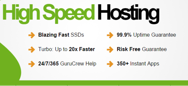 100/- per month Unlimited High Speed website hosting