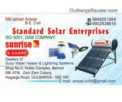For Sale Solar Water Heater Standard Solar Enterprises Gulbarga
