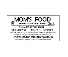 MOMS FOOD delivers