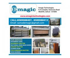 Emagic-Remote Control Gate in Thrissur Palakkad Chalakudy Angamaly Tripunithura