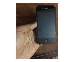 iphone 4 16GB in working and good condition