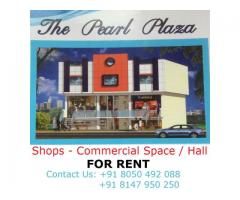 Shops commercial spaces for rent at Pearl Plaza