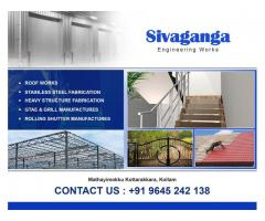 Best Polycarbonate Sheet Roofing Works in Trivandrum Kollam Pathanamthitta Thiruvalla Adoor Attingal