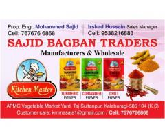 Wanted labor helper for packing spices company