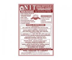 Nit   -   Noble I nstitute of Technical Courses