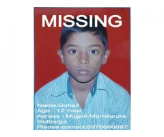 Missing Boy Sohail