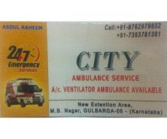 24/7 Gulbarga City Ambulance Service
