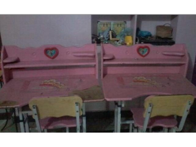 Double Study Tables