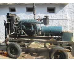 82.5 kva generator with trolley